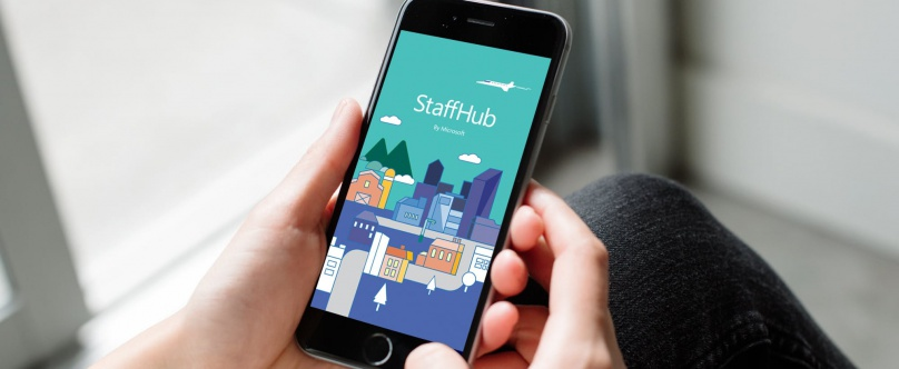Microsoft simplifie la planification de son app StaffHub