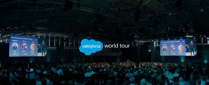 Le Salesforce World Tour arrive à Paris en juin !