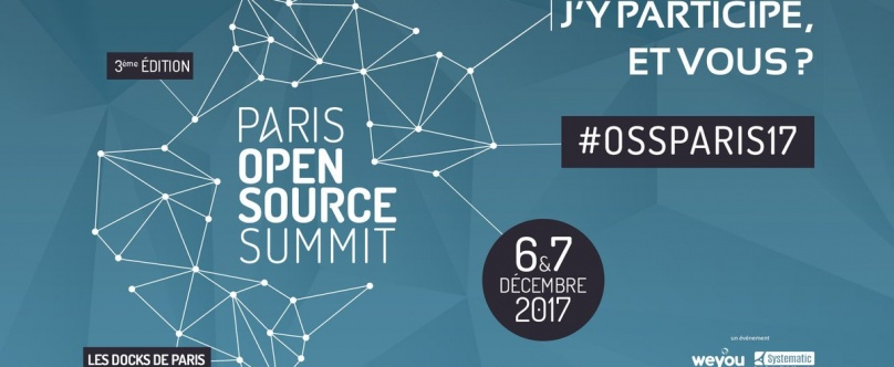 PARIS OPEN SOURCE SUMMIT 2017